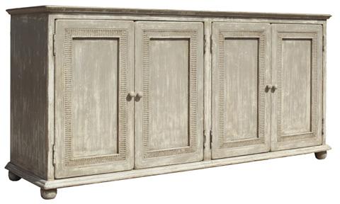Image of Pie Crust Door Front Cabinet