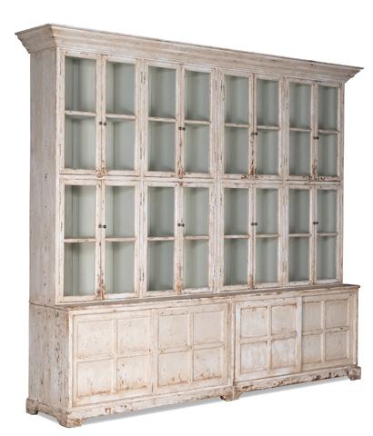 Sarreid Ltd. - Glass Front Cabinet - 29949