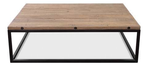 Sarreid Ltd. - Brick Maker's Boards Coffee Table - 30092