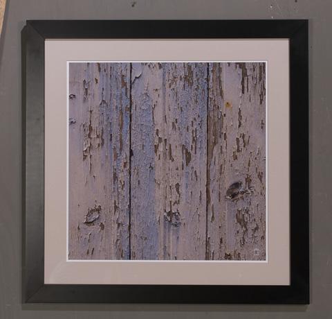 Sarreid Ltd. - Blue Peeling Paint Giclee Print - 30194