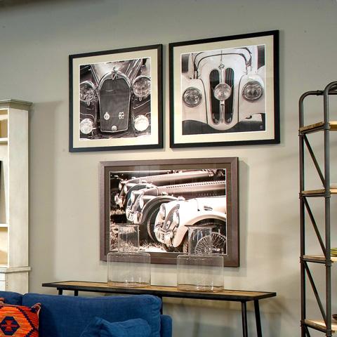 Sarreid Ltd. - Auto Giclee Print - 30207