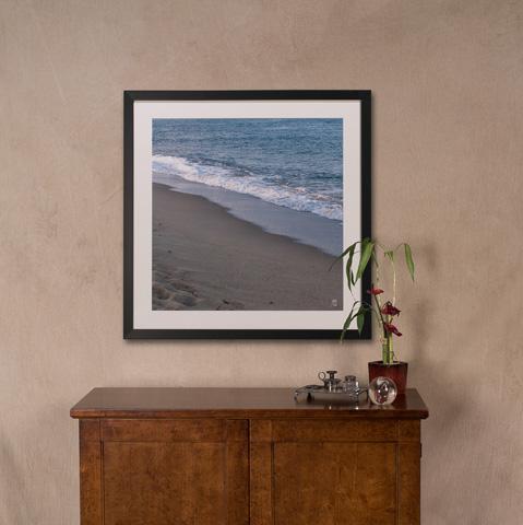 Sarreid Ltd. - Ocean Wave Giclee Print - 30221
