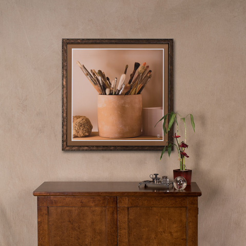 Sarreid Ltd. - Paint Brushes Giclee Print - 30236