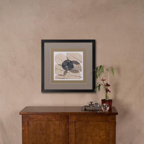 Sarreid Ltd. - Transparent Leaf Giclee Print - 30242