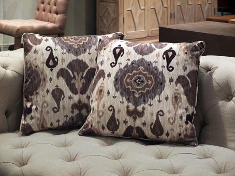 Sarreid Ltd. - Throw Pillow Pair - CF016-1F04