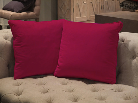 Sarreid Ltd. - Throw Pillow Pair - CF016-1F11