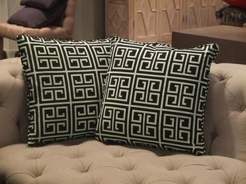 Sarreid Ltd. - Throw Pillow Pair - CF016-2F04