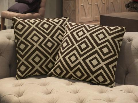 Sarreid Ltd. - Throw Pillow Pair - CF016-2F08