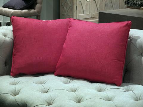 Sarreid Ltd. - Throw Pillow Pair - CF017-1F12