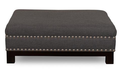 Sarreid Ltd. - Easton Ottoman - CF038-43