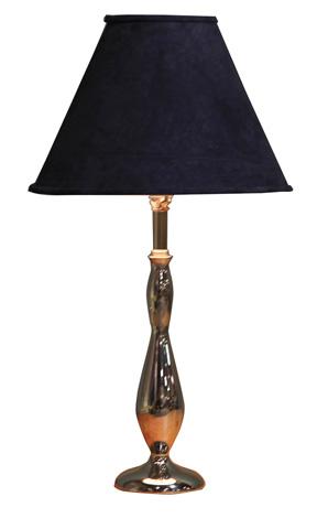 Sarreid Ltd. - Ars-Hour Glass Chrome Column Lamp - OKLV108