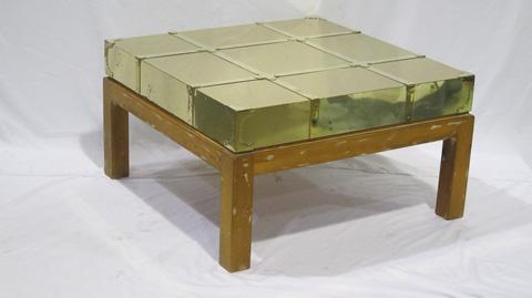 Sarreid Ltd. - Brass Cocktail Table - SFV470WS