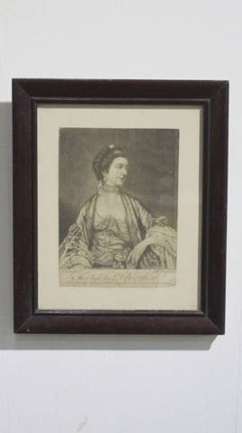 Sarreid Ltd. - The Right Honorable Lady Fortescue Painting - SFV577AS