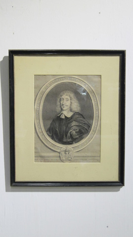 Sarreid Ltd. - Lithograph Of Mess Melchior De Gillier - SFV578AS