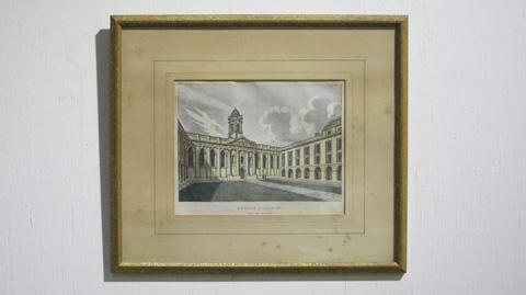 Sarreid Ltd. - Print Queens College Oxford England - SFV588AS