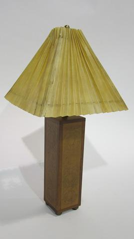 Sarreid Ltd. - Embossed Leather Table Lamp - SFV627AS