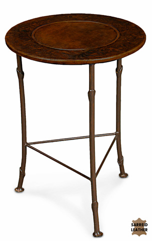 Sarreid Ltd. - Botanical Leather Plant Stand - 18448