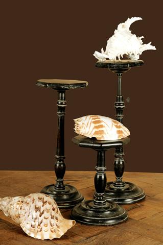 Sarreid Ltd. - Candlestands - Set of Three - 28960