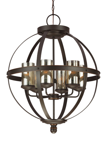 Sea Gull Lighting - Six Light Chandelier - 3110406-715