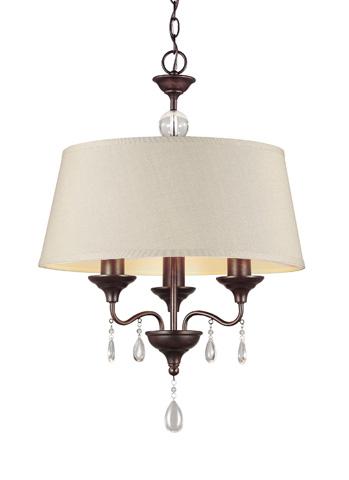 Sea Gull Lighting - Three Light Chandelier - 3110503BLE-710