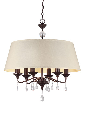 Sea Gull Lighting - Six Light Chandelier - 3110506-710