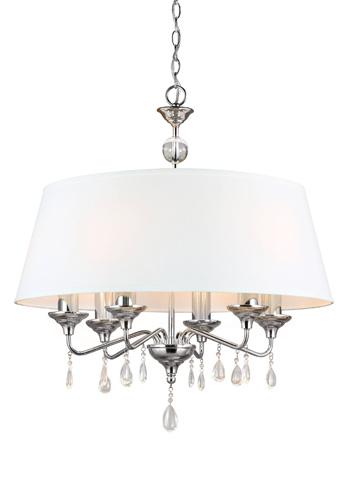 Sea Gull Lighting - Six Light Chandelier - 3110506BLE-05