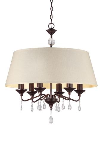 Sea Gull Lighting - Six Light Chandelier - 3110506BLE-710
