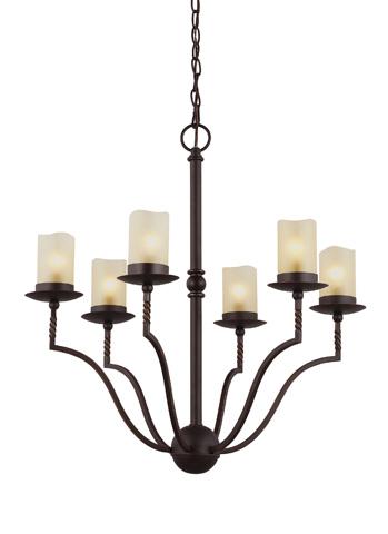 Sea Gull Lighting - Six Light Chandelier - 3110606-191