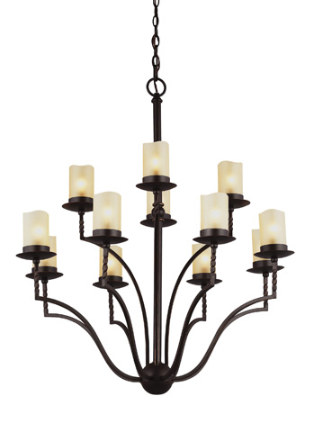 Sea Gull Lighting - Twelve Light Chandelier - 3110612-191
