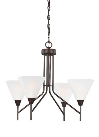 Sea Gull Lighting - Four Light Chandelier - 3111204-710