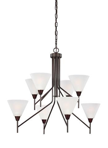 Sea Gull Lighting - Eight Light Chandelier - 3111208BLE-710