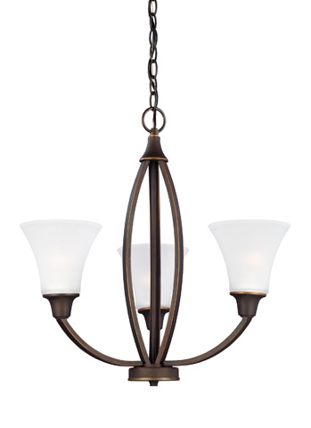 Sea Gull Lighting - Three Light Chandelier - 3113203-715
