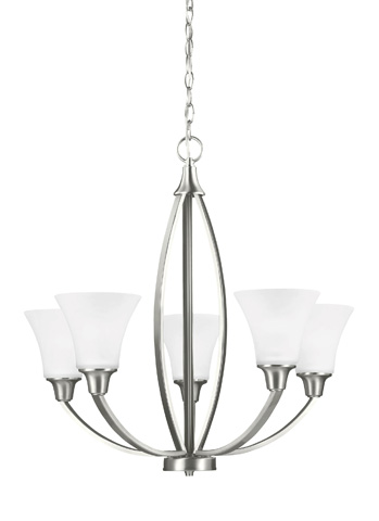 Image of Five Light Chandelier