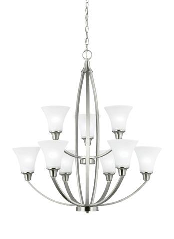 Sea Gull Lighting - Nine Light Chandelier - 3113209-962