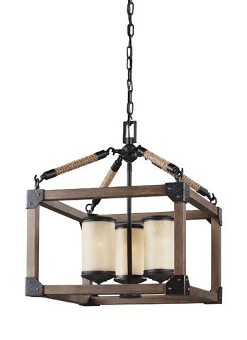 Sea Gull Lighting - Three Light Chandelier - 3113303BLE-846