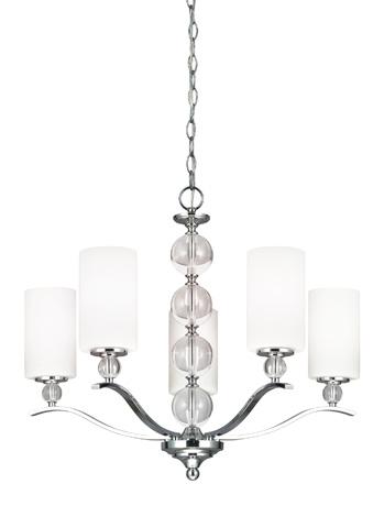 Sea Gull Lighting - Five Light Chandelier - 3113405BLE-05