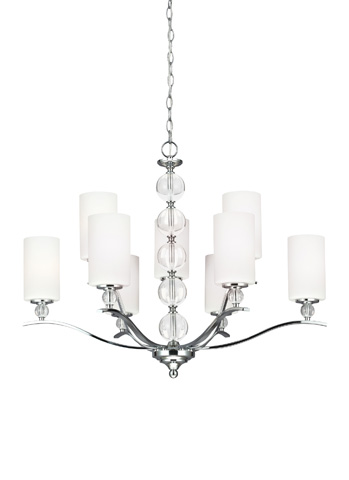 Sea Gull Lighting - Nine Light Chandelier - 3113409-05