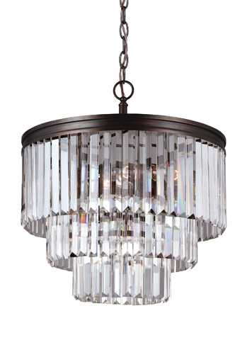 Sea Gull Lighting - Four Light Chandelier - 3114004-710