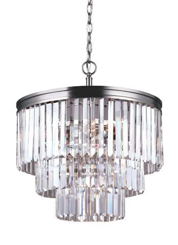 Sea Gull Lighting - Four Light Chandelier - 3114004BLE-965