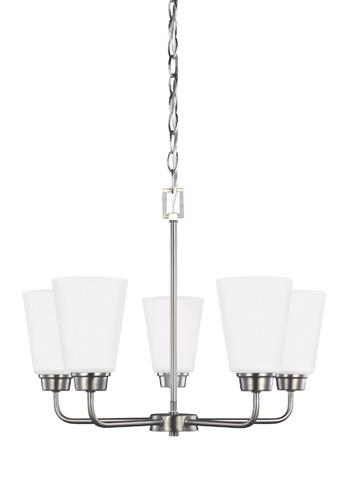Sea Gull Lighting - Five Light Chandelier - 3115205BLE-962