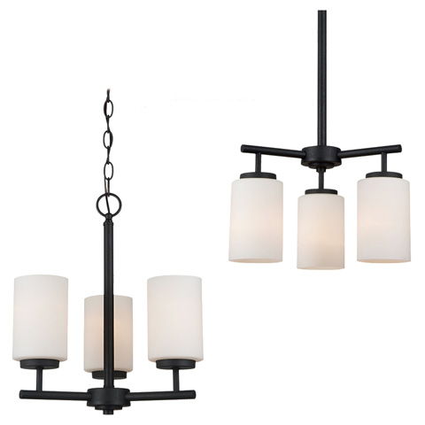 Sea Gull Lighting - Three Light Chandelier - 31160-839