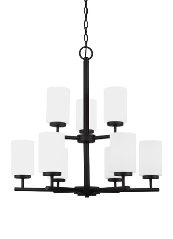 Sea Gull Lighting - Nine Light Chandelier - 31162-839
