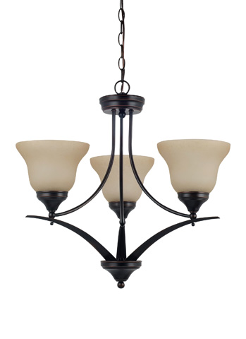 Sea Gull Lighting - Three Light Chandelier - 31173-710