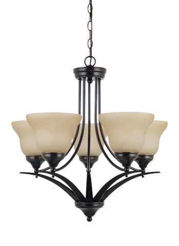 Sea Gull Lighting - Five Light Chandelier - 31174-710
