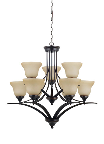 Sea Gull Lighting - Nine Light Chandelier - 31175-710