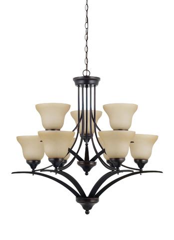 Sea Gull Lighting - Nine Light Chandelier - 31175BLE-710