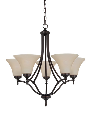 Sea Gull Lighting - Five Light Chandelier - 31181-710