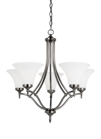 Sea Gull Lighting - Five Light Chandelier - 31181BLE-965