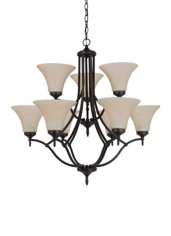 Sea Gull Lighting - Nine Light Chandelier - 31182-710