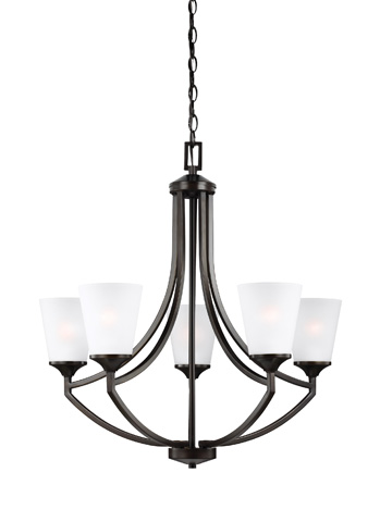 Sea Gull Lighting - Five Light Chandelier - 3124505-710